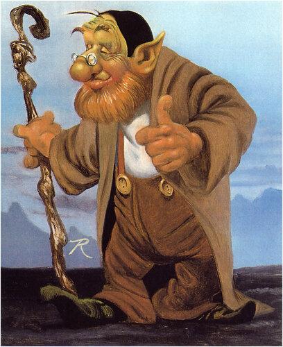 Картина художника Ровены Моррилл.