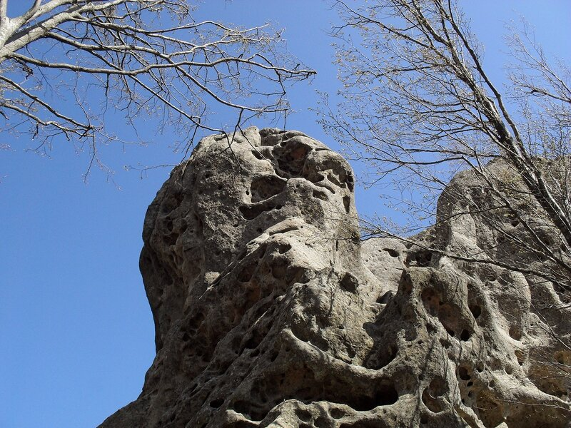 Скалы горы Индюк
