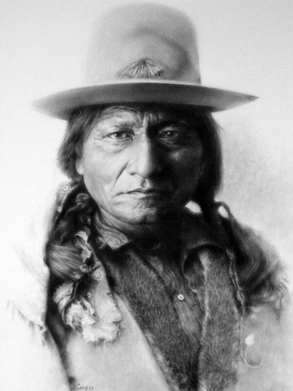 работы Stephanie Campos,индейцы