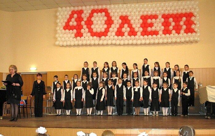 Отчетный концерт хорового отделения