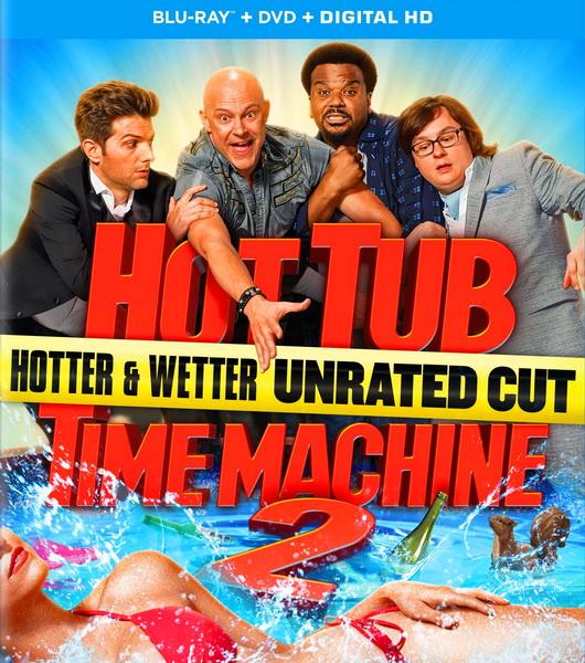 Машина времени в джакузи 2 / Hot Tub Time Machine 2 [UNRATED] (2015/BDRip/HDRip)