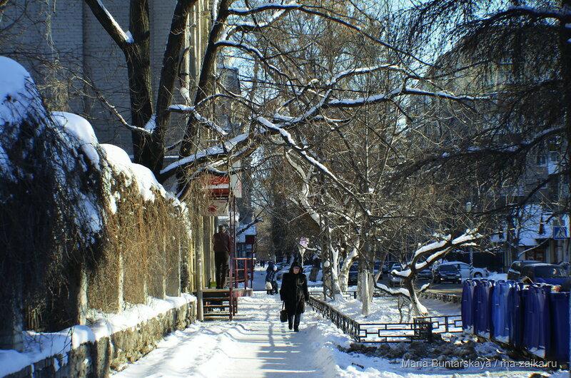 Мороз и солнце, Саратов, Большая Казачья, 12 января 2016 года