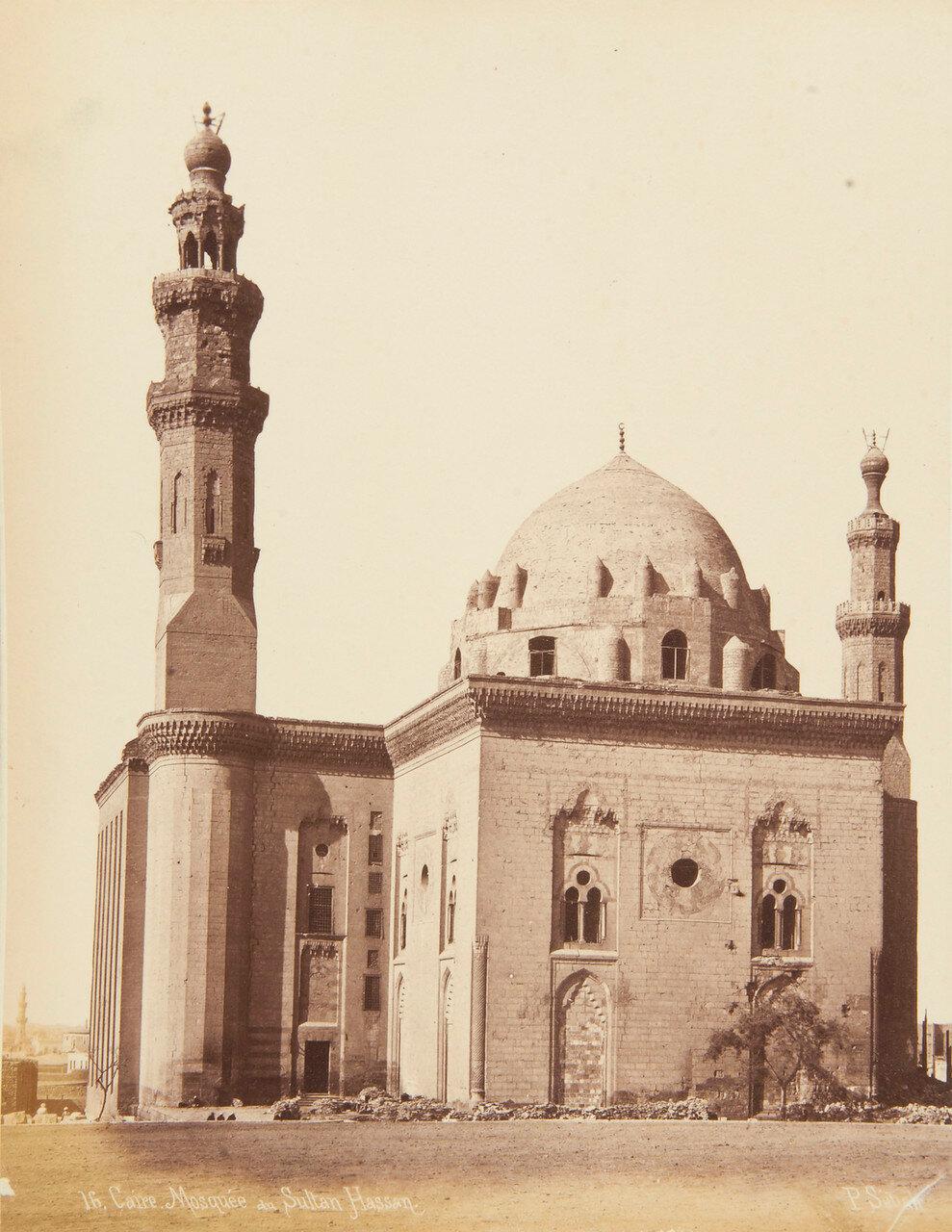 Каир. Мечеть султана Хасана. Вход в мечеть