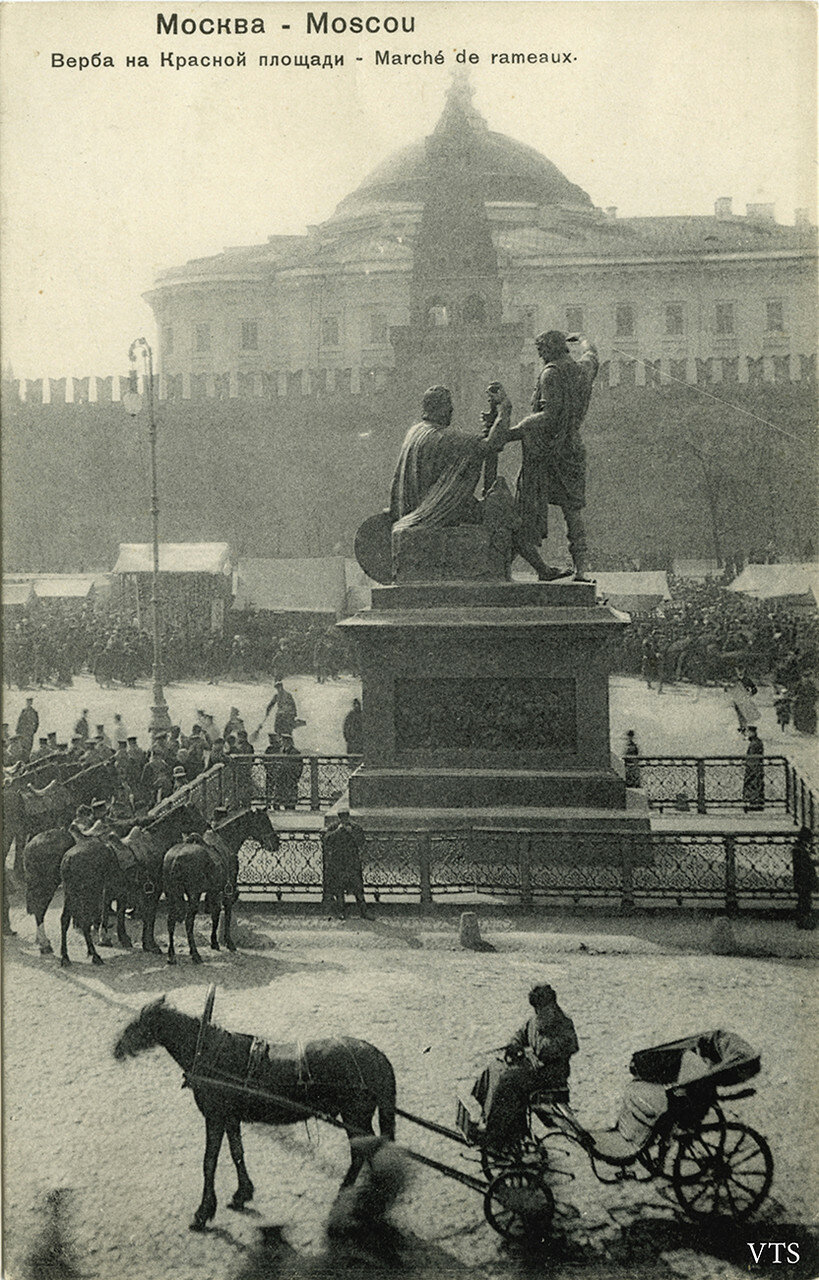 Верба на Красной площади