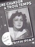 """Une chanson à trois temps - """"Песня на три такта"""" в исполнении Эдит Пиаф (1947)"""