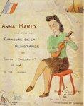 Приглашение на один из послевоенных концертов Анны Марли