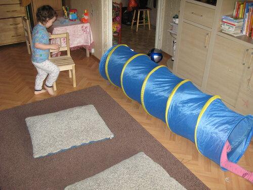 Как сделать полосу препятствий дома
