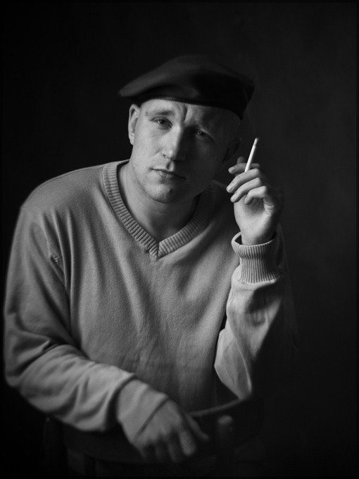 студийные портреты блогеров. черно-белые фотографии. фотограф Кузьмин. фото ezik13