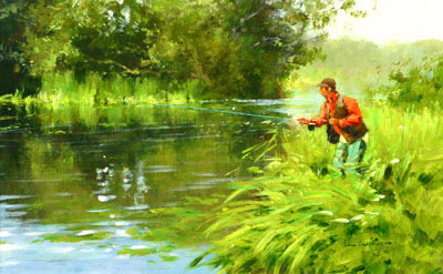 картина про рыбалку купить
