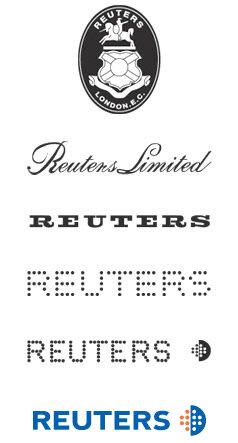 reuters logo evolution