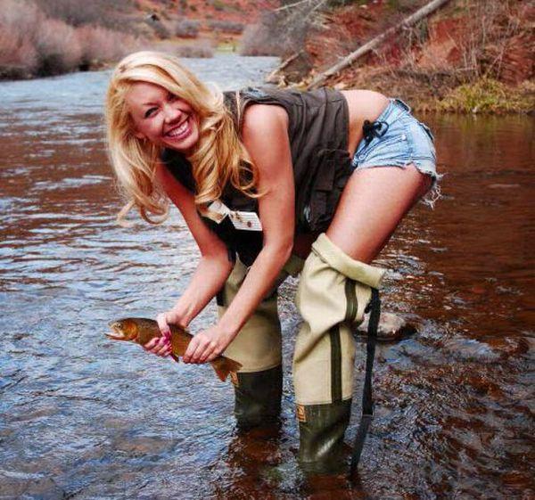 Рыбалка по-женски