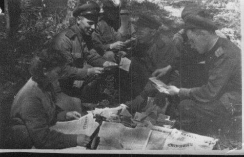 Политработав 102-й гаубичной артиллерийской бригаде