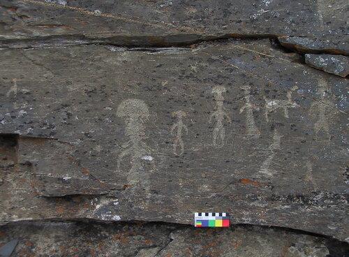 чукотские рисунки на скале