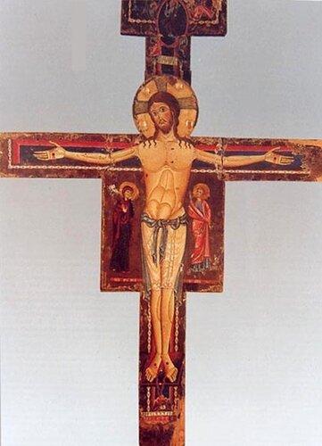 Распятие, XIII в. Италия