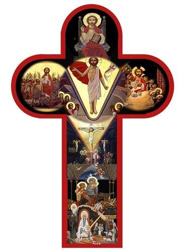 ХРИСТОС ВОСКРЕС!  Коптский крест