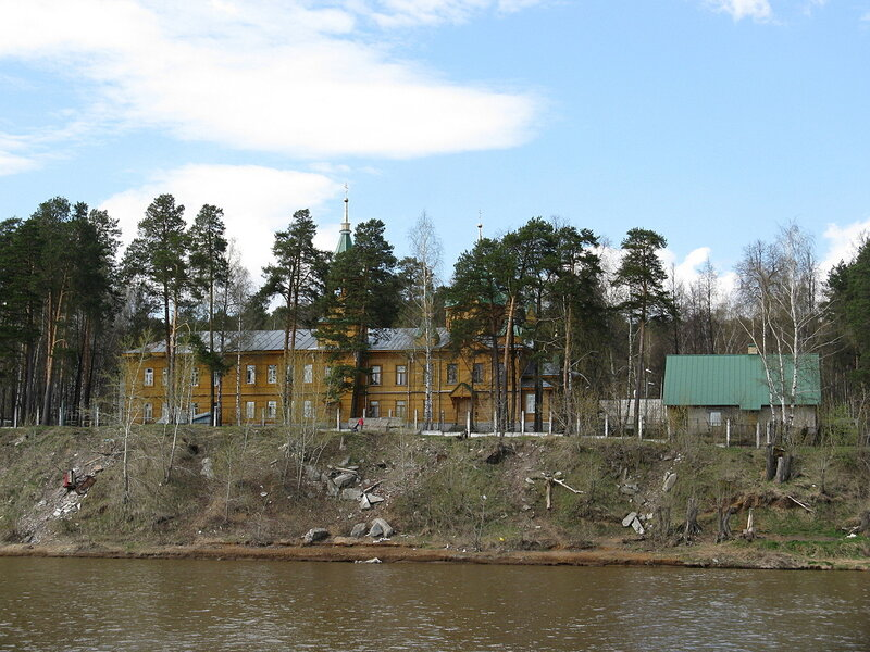 Берег Камы у Краснокамска