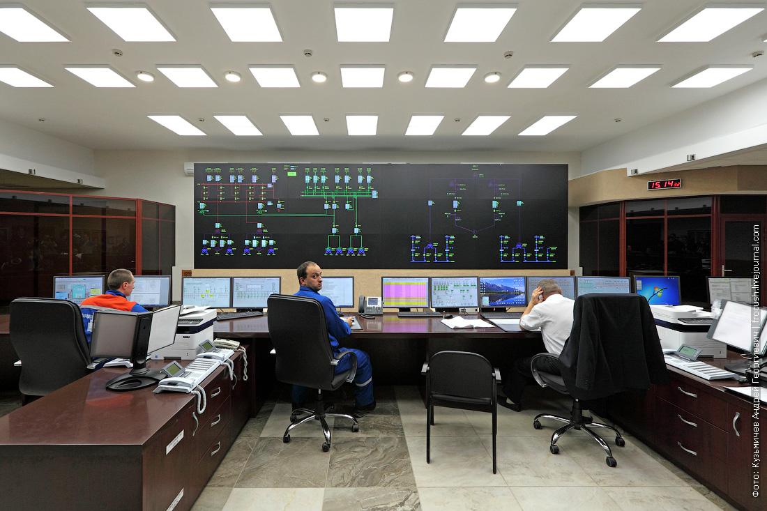 центральный щит управления шестого энергоблока Нововоронежской АЭС
