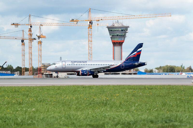 Сухой Superjet-100-95B (RA-89059) Аэрофлот 199_D807364