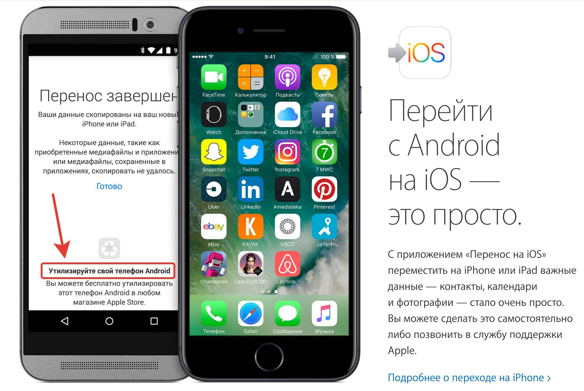 Как Apple тонко троллит Android