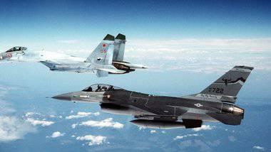 Российский Су-27 опасно сблизился с самолетом США над Черным морем, - Пентагон