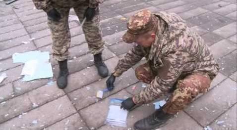 На Житомирщине в поселковом совете взорвали банкомат (видео)