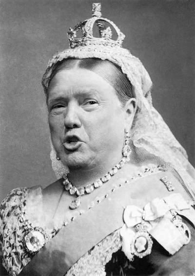 Если бы Трампа избрали королевой Великобритании