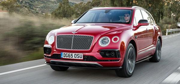 Bentayga от Bentley станет дизельным