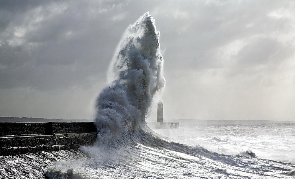 Фото приколы. Вот это волна!