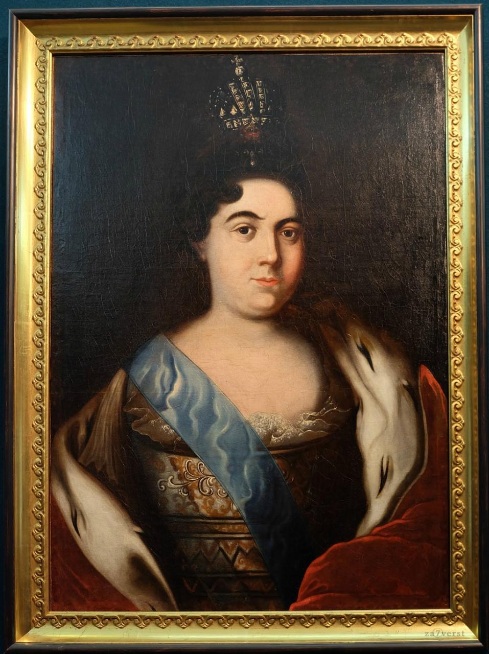 Домик Петра в Вологде, музей, портрет Екатерины Первой
