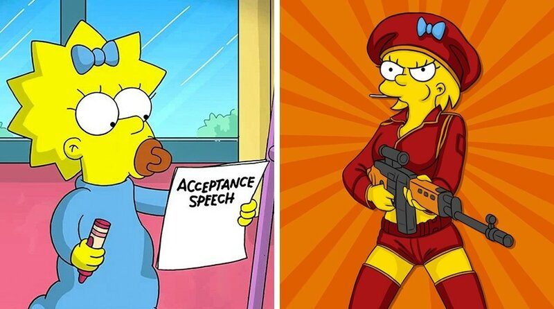 Как бы выглядели повзрослевшие герои любимых мультиков