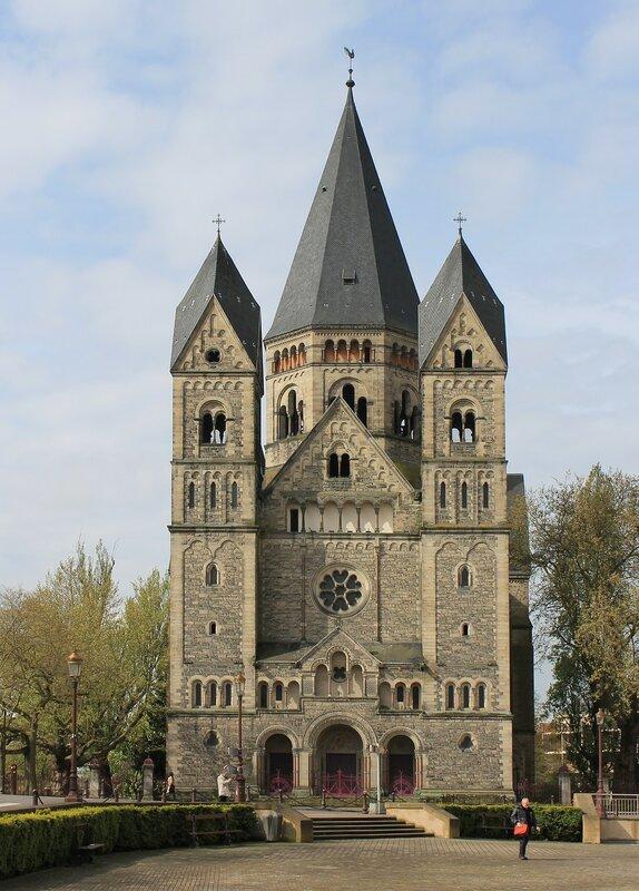 Мец. Новая протестантская церковь (Temple Neuf de Metz)