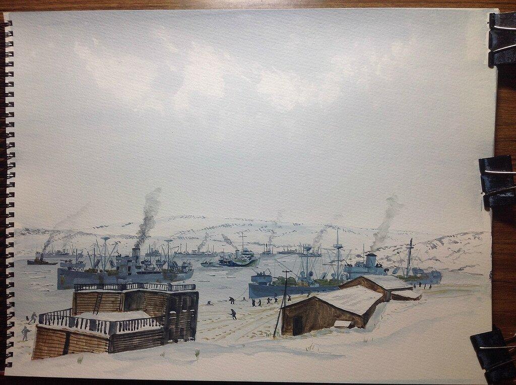 Quiet day in Murmansk!