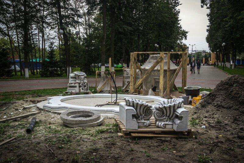 Новый фонтан