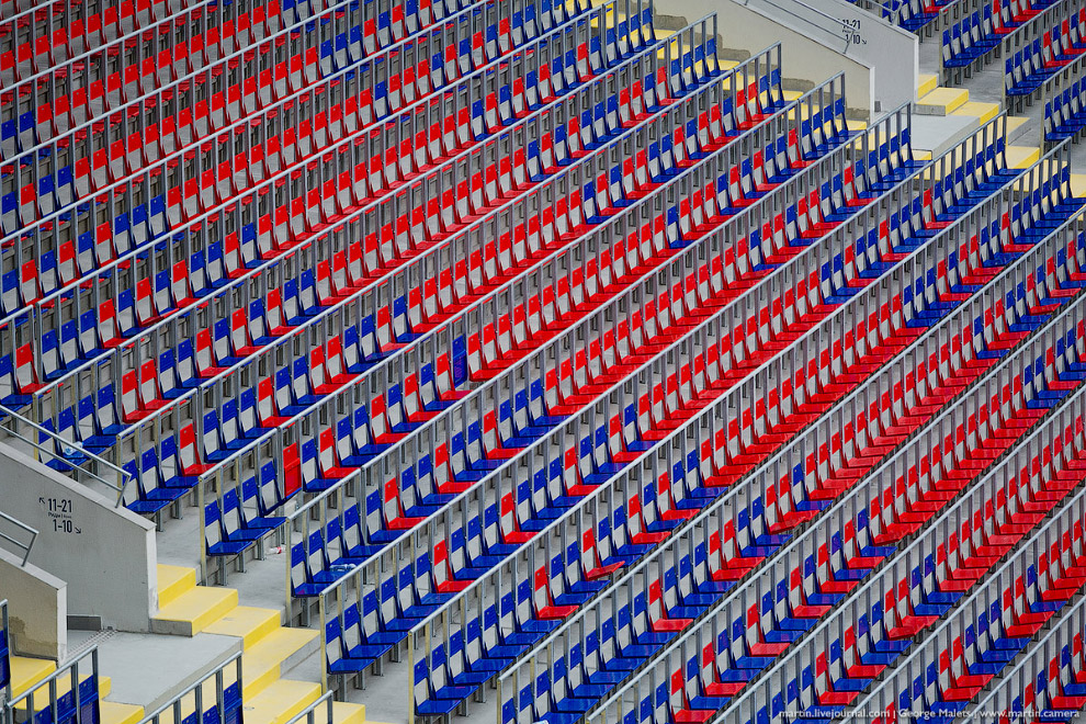17. Впервые новый стадион Арена ЦСКА открыл двери буквально на днях, 23 августа прошла встреча коман