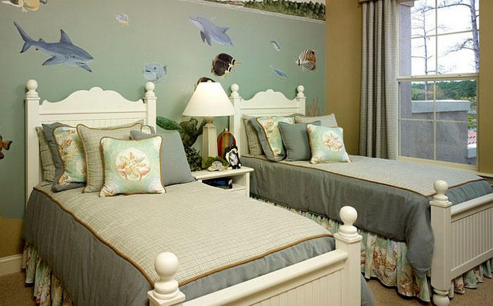 5. Lendry Homesорская тематика в интерьере детской спальни от Lendry Homes