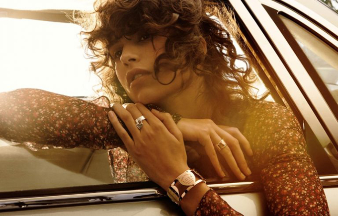 Мика Арганараз для Tiffany & Co