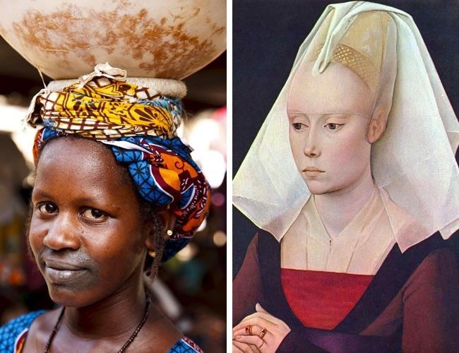 © East News  © Rogier van der Weyden  Самым главным украшением женщин изплемени фульбе