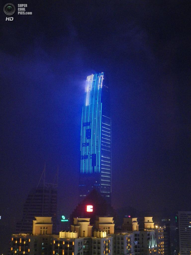 5. KK100, Шэньчжэнь. Высота: 442 м. Введение в эксплуатацию: 2011 год. (Alison Cassidy)