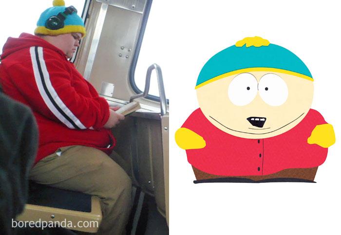 Мальчик в автобусе или Эрик Картман?