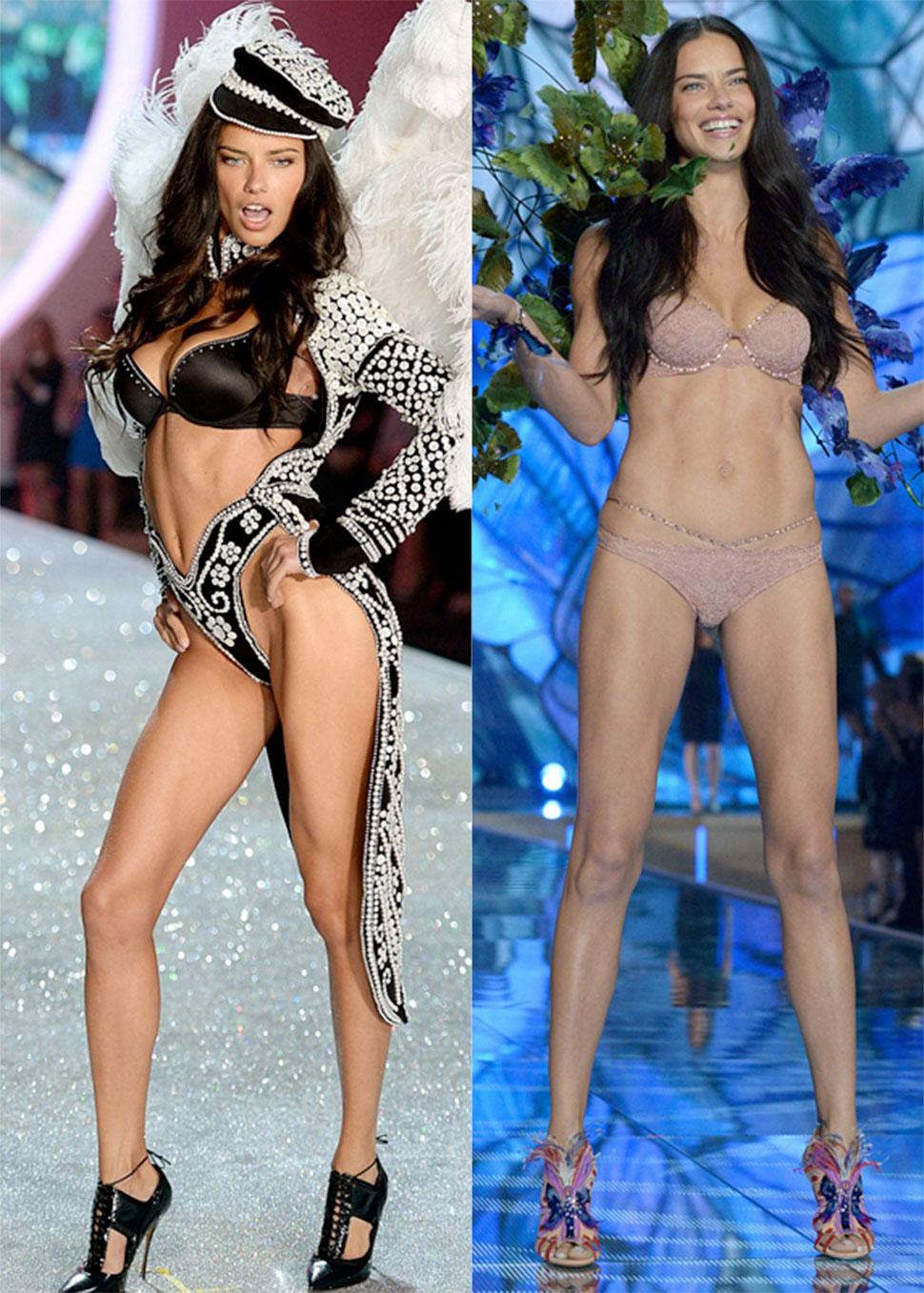 2. Адриана Лима — 10,5 миллионов долларов Бразильская модель Адриана Лима — один из «ангелов» Victor