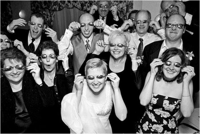 Главная тема свадьбы — ложки.