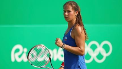 Дарья Касаткина проиграла вчетвертьфинале олимпийского турнира