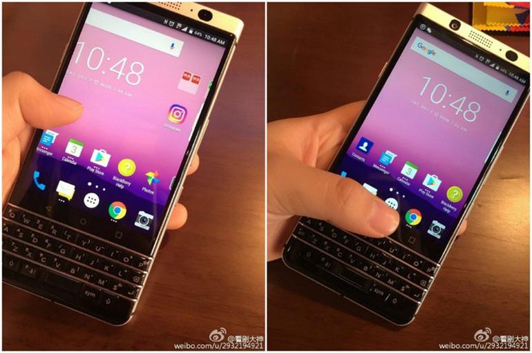 BlackBerry Меркури сQWERTY-клавиатурой показался наживых фото