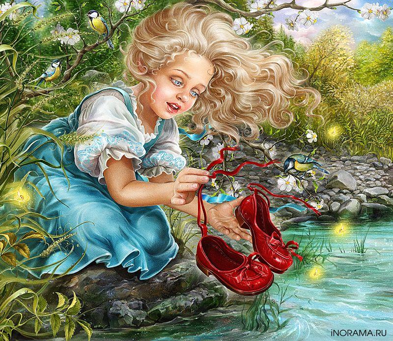 невероятно красивые иллюстрации к сказкам инна кузубова мальчики, женщины мужчины