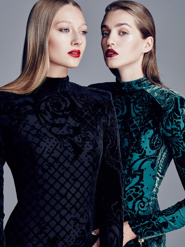 Fashion photographer Piotr Stoklosa at Warsaw Creative captures H&M 's beauty story featuring