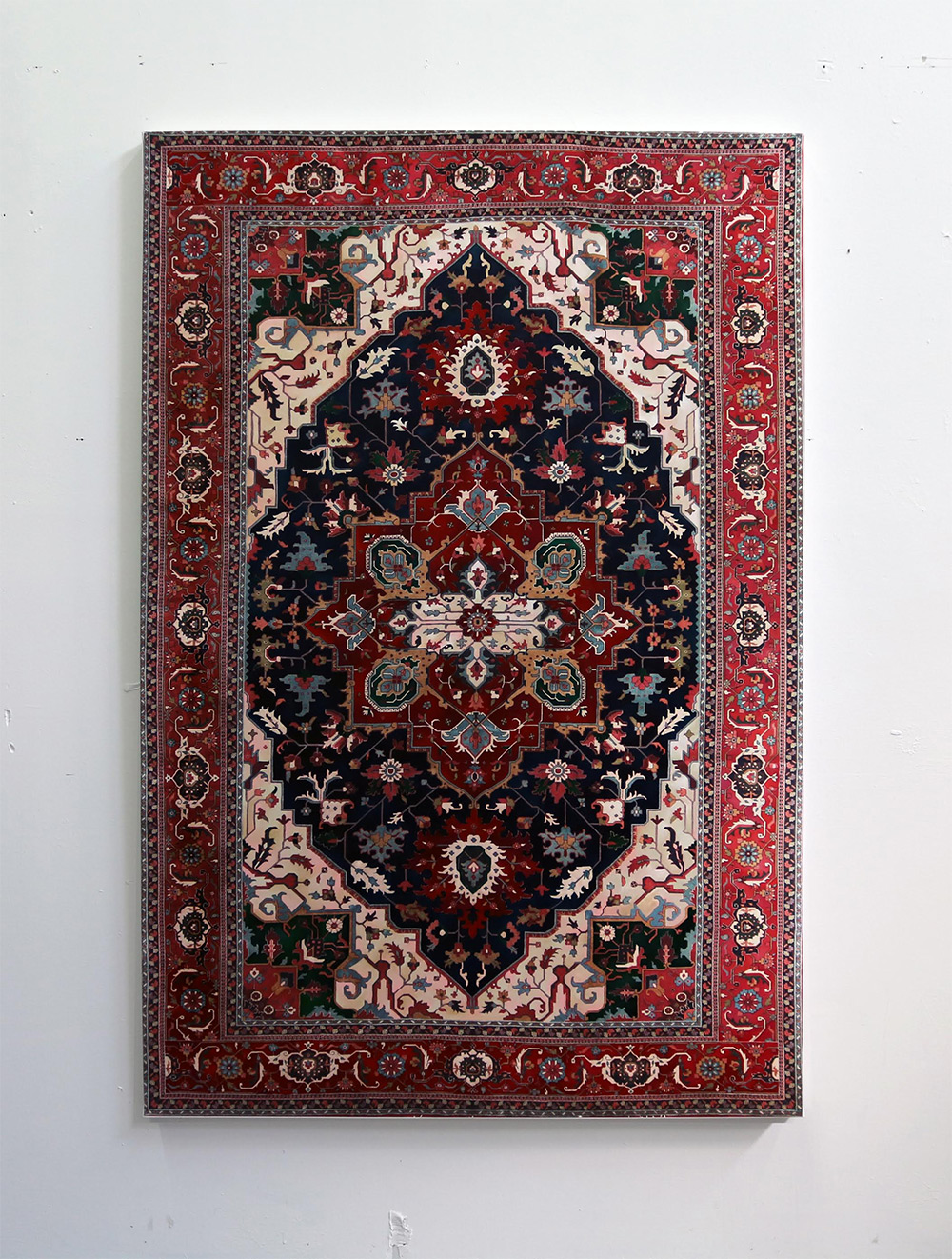 Elaborate Hand-Painted Persian Carpets by Jason Seife
