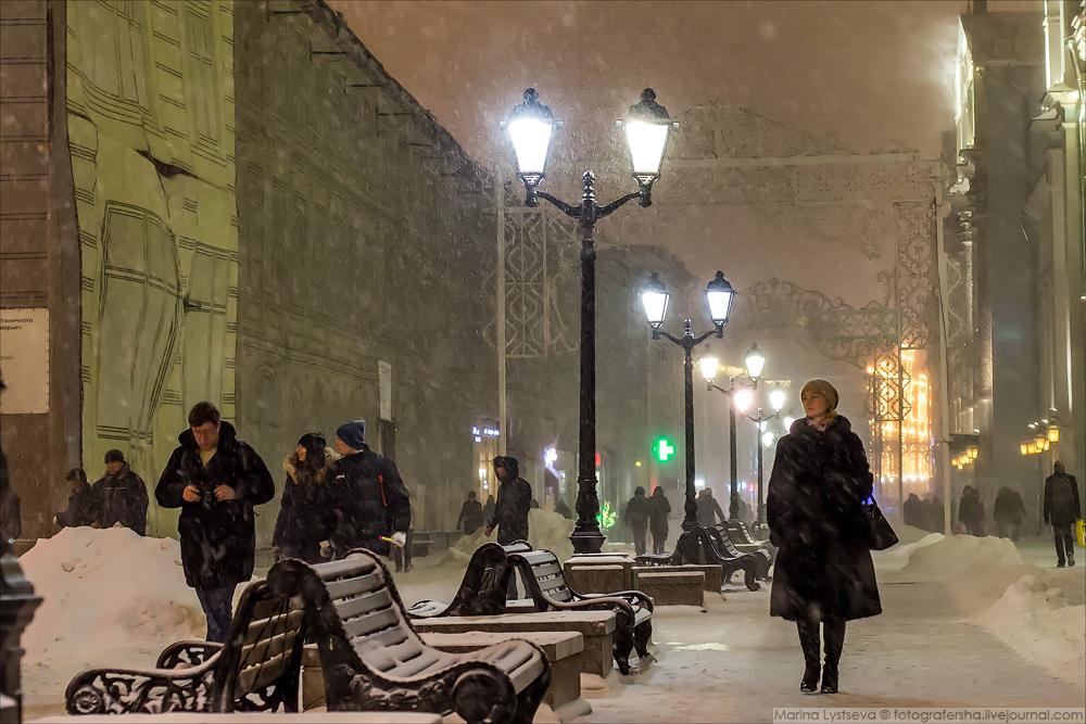москва зима-2016