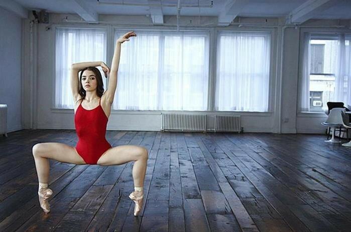 Потрясающе красивые фотографии балерин