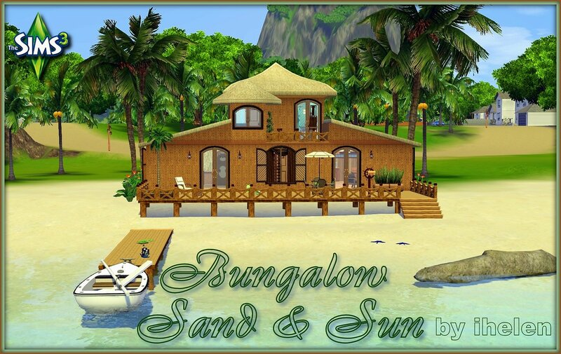 Bungalow Sand and Sun by ihelen