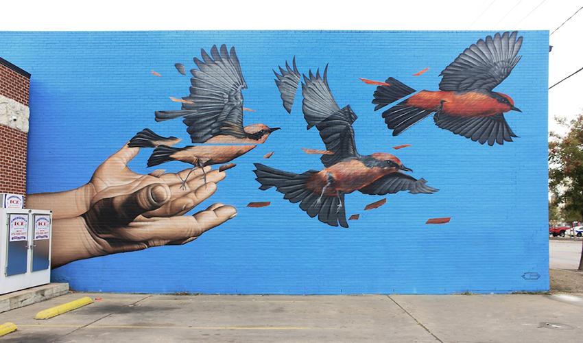 Street art de James Bullough
